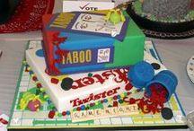Torty i ciasteczka - gry planszowe / Torty i ciasteczka w kształcie gier planszowych - zainspiruj się!
