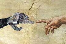Drones - Robots - Humanoïdes - Intelligence Artificielle - Singularité / Drones, Robots, Humanoïdes, Exosquelettes, Intelligence Artificielle, Singularité, Immortalité ... La singularité de Ray Kurzweil date le moment où un superordinateur sera plus puissant qu'un cerveau humain. Au-delà de ce point, le progrès ne serait plus l'œuvre que d'intelligences artificielles, elles-mêmes en constante progression. Le risque en est la perte de pouvoir humain, politique, sur son destin. Demandez nous la brochure pour numérisation de votre cerveau...  :o)