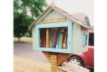 Little Free Library / We love these Libraries!