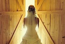 Barn Wedding Dress Ideas / Ideas for Wedding Dresses if you are planning to get married in or have your wedding reception in a converted wedding barn.