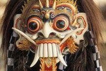 Masks / http://en.wikipedia.org/wiki/Mask / by チℓ ᵕ_ᵕ) w