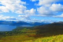 Conic Hill / Just over the road from The Oak Tree Inn is Conic Hill. 40 minutes to the top with stunning scenery and views along all of the route.