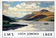 Loch Lomond Posters / Classic travel and event posters for Loch Lomond.