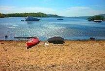 Inchcailloch Island / Just a few minutes by boat from Balmaha is one of the most magical places in Scotland. The island of Inchcailloch.