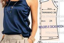 Patrones ropa / by Rosi Garcia Caamaño