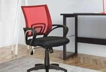 Office Chairs / A comfortable office chair helps your productivity so you can get everything done.