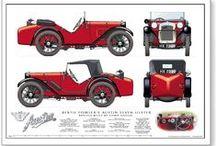classic cars blueprint