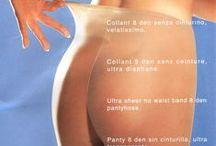 Sheer Pantyhose Nylon / The fascination of sheer transparent nylon pantyhose.