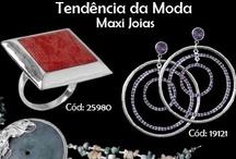 Max Joias / A tendência 2013 aposta com tudo na moda dos Max, são anéis, colares, brincos, pingentes..peças que realçam o visual, retratam um estilo ousado. E fazem de quem usa uma expressão da moda!
