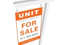 UNIT Marketing Collateral / Unit Realty Group identity pieces