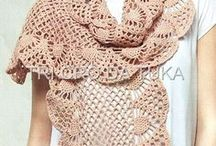 Crochet Scarves, Shawls and Wraps / My favorite ones!
