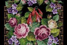 Ponto cruz / by rosa santos