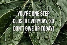 motivierende Zitate / Inspo, Motivation, Quotes um fit zu werden und nicht aufzugeben und ein besseres, glücklicheres und gesünderes Leben führen