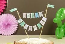Cake toppers / What can you put on the top of your cakes