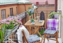 Balkons.Gardens/Balkonok ,Kertek