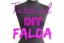 DIY  skirts, Faldas/vestidos / Tutoriales de costura de faldas y vestidos  skirts