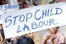 """STOP au labeur des enfants / """" Le monde est dangereux à vivre ! Non pas tant à cause de ceux qui font le mal, mais à cause de ceux qui regardent et laissent faire. """"    (Albert Einstein)"""