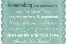 Homemaking | Inspirational Quotes