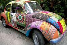 """Génération Hippie (véhicules) / """"Les hommes mettent dans leur voiture autant d'amour-propre que d'essence."""" (Pierre Daninos)"""