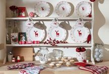 Christmas Table Setting & Tableware