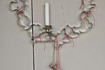 Kranz aus Plätzchenformen / DIY Weihnachten