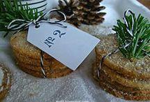 Vanille-Taler mit Zimt / Weihnachtsgebäck, Adventsdeko, Adventszeit, Plätzchen backen