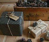 Geschenke / Weihnachtsgeschenke schön verpackt, Weihnachtsgeschenke, Geschenkverpackung zu Weihnachten, Geschenke verpacken