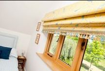 Roman blinds / Various styles of roman blind and shade