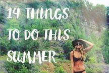 Whichit Summer Lovin' / Beautiful ideas to do this Summer.
