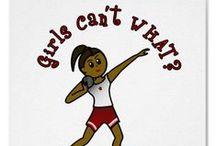 GIRL Track & Field Throwers / Javelin, Hammer, Discus & Shotput