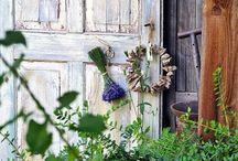 Lavendel / Lavendel, Gartendeko, Landhausgarten