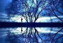 """Reflets / """"Le monde est un miroir qui renvoie à chaque être humain le reflet de son propre visage."""" (William Makepeace Thackeray)"""