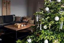 Frohe Weihnachten 2015 / Weihnachstdekoration, weißer Weihnachtsbaumschmuck, Weihnachtliche Wohnzimmerdeko, Deko Weihnachtsbaum, Weihnachtsbaumdeko