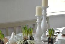 Tischdeko im Frühling / Tischdekoration im Frühling