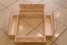 Κουτιά Λαμπάδας / Ξύλινα κουτιά για λαμπάδες