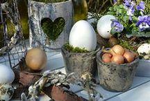 es wird Ostern im Garten / Osterdekoration, DIY aus Weidenkätzchen, Osterkranz