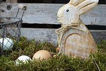 Ostern / Osterhasen, Gartendekoration zu Ostern Osterdekoration