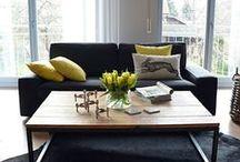 Das Gelbe vom Ei. / Wohnzimmer