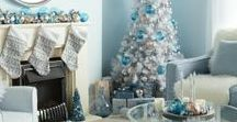 Winter Wonderland Christmas / Poundland's Winter Wonderland Christmas theme features an array of silver, crisp white and French blue decorations, with just a sprinkling of soft pink.