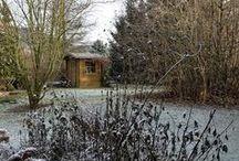 übern Gartenzaun zu Marina / Außendekoration im Winter, Gartendekoration im Dezember, natürliche Gartendekoration im Winter, Außendeko Weihnachten