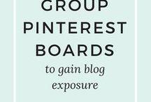 Pinterest, Facebook, Instagram Marketing / Pinterest, Facebook, Instagram, Twitter - so holst du aus diesen Social Media Kanälen das beste für deinen Blog und dein Business heraus!