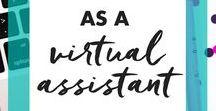 Virtuelle Assistenz / Wie kannst du Virtuelle Assistentin werden, was musst du dafür können, um als VA durchzustarten? Wie gewinnst du Kunden? Alle das - und meine eigenen Erfahrungen als selbstständige VA gibt es hier!