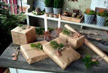 Frohes Fest / Geschenkverpackung Weihnachten, Weihnachtsgeschenke verpacken, Ideen Verpackung Weihnachten