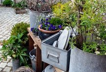Endlich Frühling / Gartendeko, Shabbystile, Frühlingsdekoration, Ideen zur Frühlingsdeko