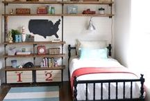 Kid Rooms / Color Schemes, Design Ideas, Up-cycling kids furniture....yeah, kids rooms are just fun to plan!