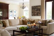 Decor Inspiration: Living Room/Family Room