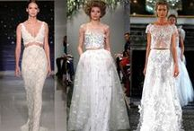 """Bridal Style: Wedding Dresses + More / """"Talk six times with the same single lady and you may get the wedding dress ready"""" - Lord Byron"""