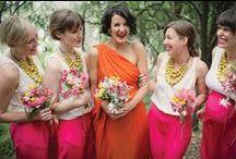 """Bridesmaids / """"A happy bridesmaid makes a happy bride."""" - Lord Alfred Tennyson"""