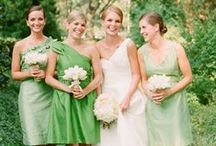 {Color Palette} Green Weddings