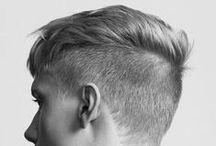 Coiffures pour homme / Idées de coiffure pour homme, cheveux rasés, barbe longue, les tendances en matière de poils